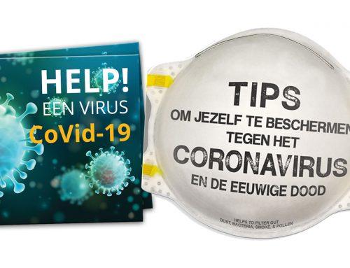 Evangelisatieflyers coronavirus